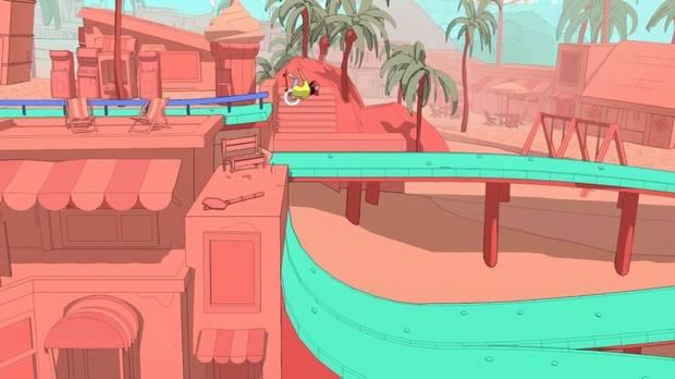 OlliOlli World screenshot.