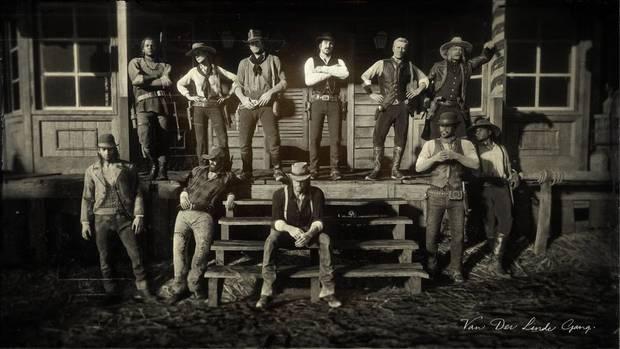 Red Dead Redemption 2 - La banda de Dtuch van der Linde