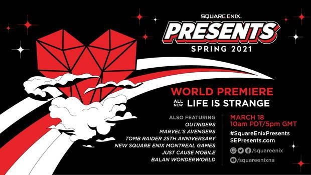 News from Square Enix Presents.