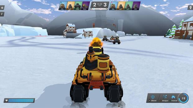 Image of PedalTanks, one of Playpulse One's launch games
