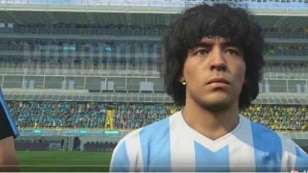 Maradona y Konami llegan a un acuerdo por el uso de su imagen en PES 2017 Imagen 2
