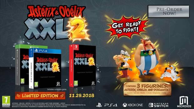 Anunciado Asterix & Obelix XXL 3 y una remasterización de XXL 2 Imagen 2