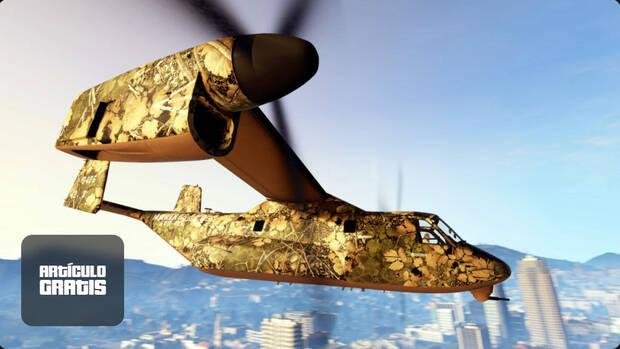 Camouflage gift in GTA Online