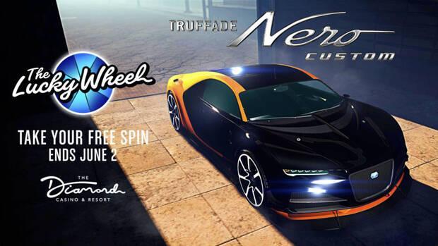 GTA Online Fortune Wheel Prize