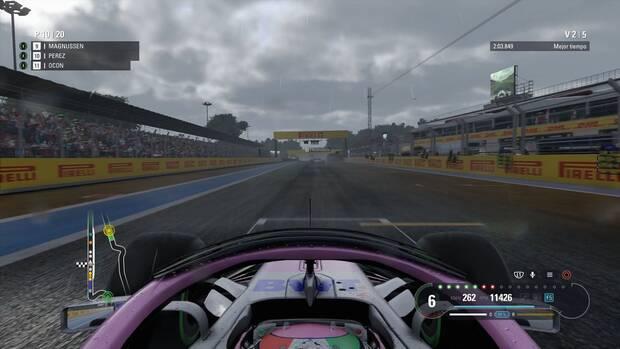 F1 2018 - Consejos - Salida manual