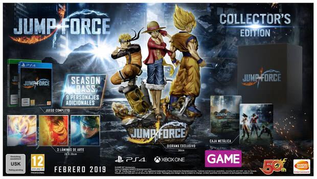 GAME detalla sus ediciones e incentivos de reserva para JUMP Force Imagen 2