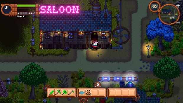 Captura de Monster Harvest.
