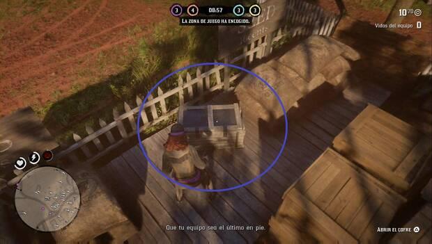 Red Dead Online - Battle Royale: cofre con armadura