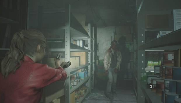 Resident Evil 2 - Prólogo/Claire: zombi resucitado