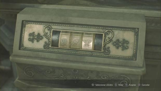 Resident Evil 2 - Encuentra los 3 medallones/Claire - Puzzle de la estatua del león