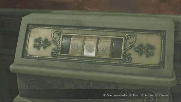 Resident Evil 2 - Encuentra los 3 medallones: solución puzzle de la estatua del unicornio