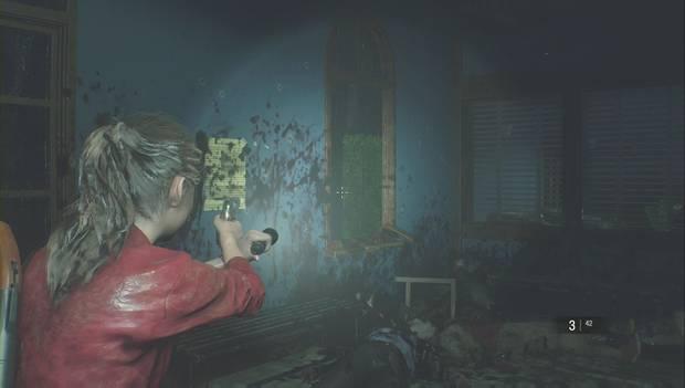 Resident Evil 2 - Encuentra los 3 medallones: sella la ventana
