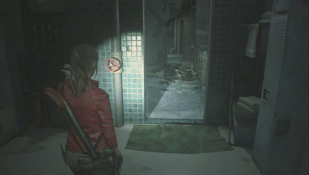 Resident Evil 2 - Encuentra los 3 medallones: usa la manivela para cortar el vapor