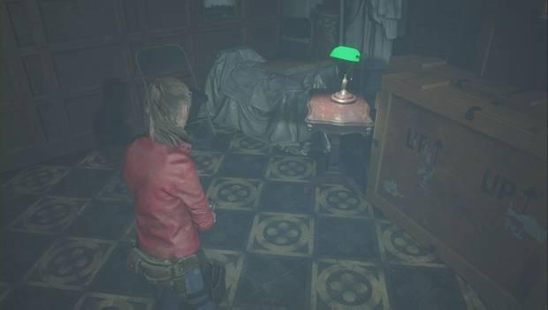 Resident Evil 2 - Encuentra los 3 medallones: ubicación de la tarjeta llave del arsenal
