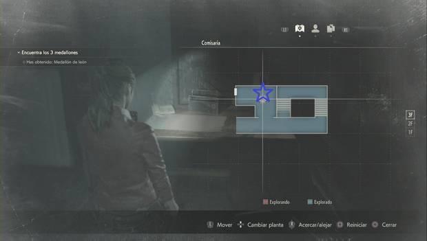 Resident evil 2 - Llave de la pica (Claire)