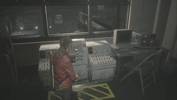 Resident Evil 2 Remake - Busca una salida: mueve la pasarela