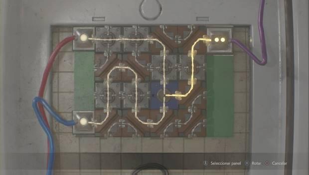Resident Evil 2 Remake - Soución del puzzle del panel electrónico de Claire