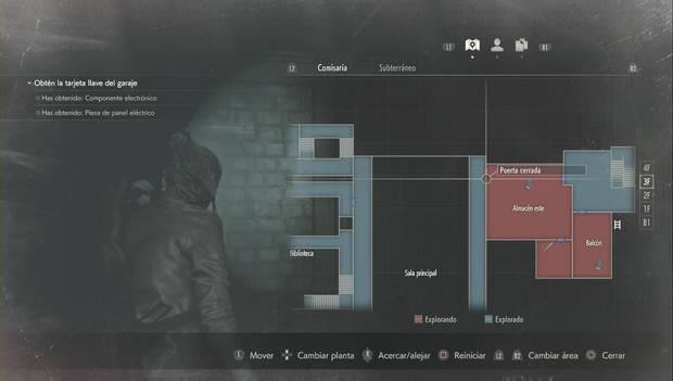 Resident Evil 2 Remake - Encuentra las piezas del panel eléctrico: puerta al Almacén este