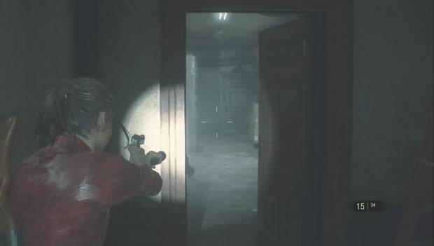 Resident Evil 2 Remake - Encuentra las piezas del panel eléctrico: Un zombi en el almacén este