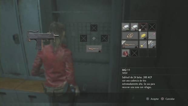Resident Evil 2 Remake - Encuentra las piezas del panel eléctrico: MQ 11