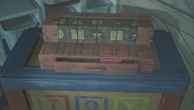 Resident Evil 2 Remake - Escapar del jefe Irons: solución del puzzle de los cubos