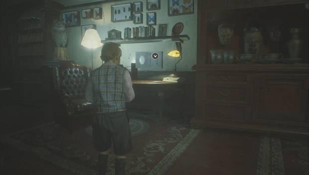 Resident Evil 2 Remake - Escapar del jefe Irons: La llave de la puerta principal