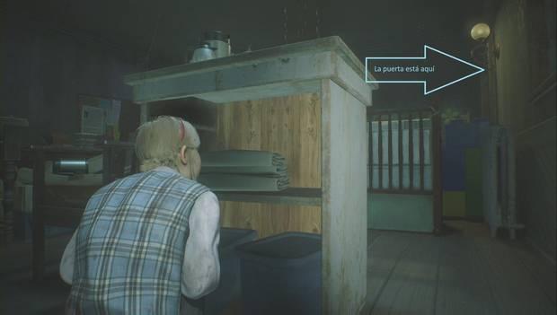 Resident Evil 2 Remake - Escapar del jefe Irons: Escóndete aquí