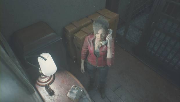 Resident Evil 2 Remake - Escapar del jefe Irons: Claire va a por el policía