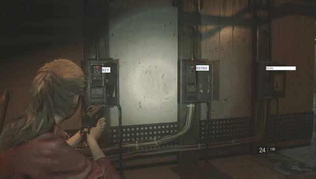 Resident Evil 2 Remake - Puzzle del ajedrez (derecha)