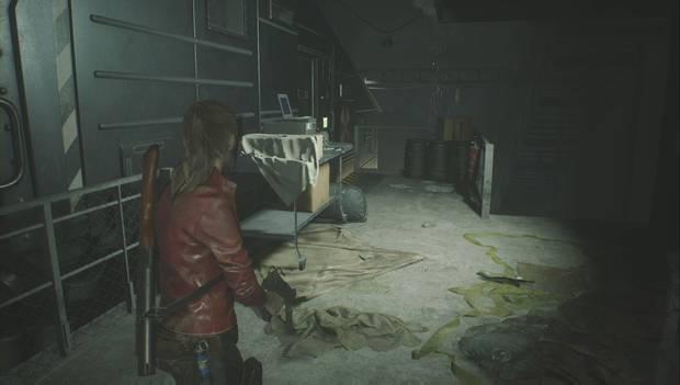 Resident Evil 2 Remake - Encuentra los enchufes: Ubicación de llave en forma de T