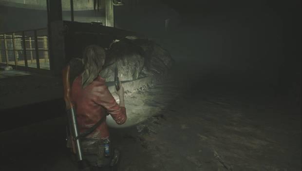 Resident Evil 2 Remake - Encuentra los enchufes: granada de mano