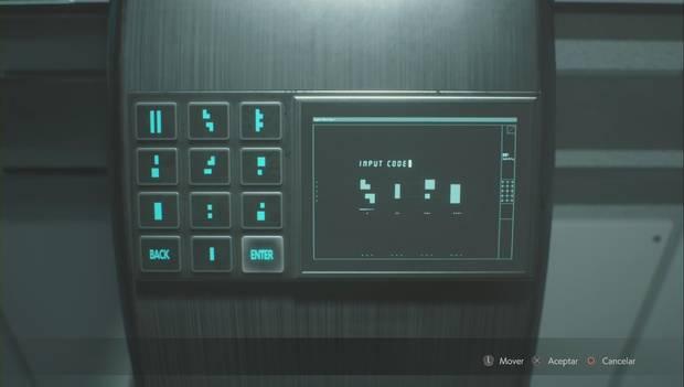 Resident Evil 2 Remake - Puzzle del invernadero: solución 2