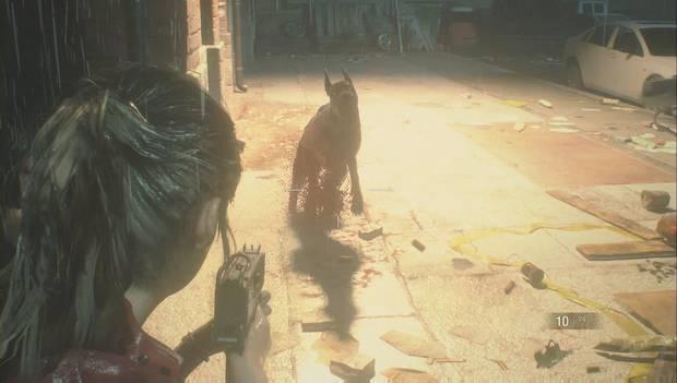 Resident Evil 2 Remake - Rescata a Sherry del orfanato: Elimina al perro