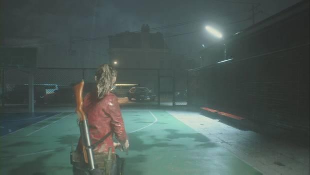 Resident Evil 2 Remake - Rescata a Sherry del orfanato: La puerta para continuar