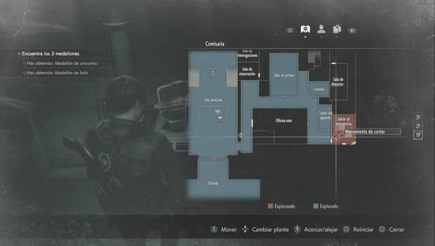 Resident Evil 2 Remake - Cortacandados: localización