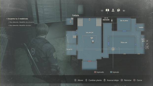 Resident Evil 2 Remake - Manivela redonda: localización