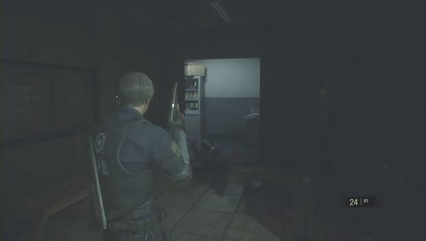 Resident Evil 2 Remake - Encuentra las piezas del panel eléctrico: la persiana del ala este