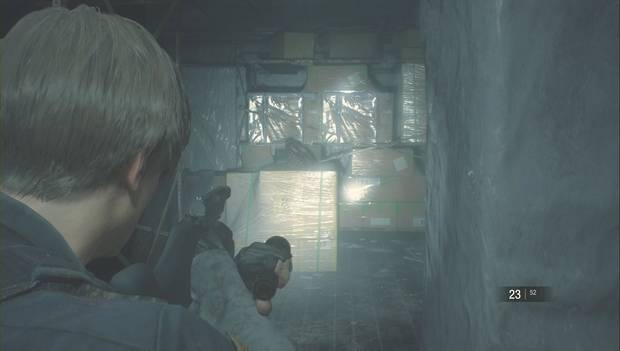 Resident Evil 2 Remake - Encuentra las piezas del panel eléctrico: engranaje grande