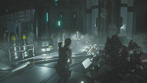 Resident Evil 2 Remake - Investiga el laboratorio: ascensor de servicio