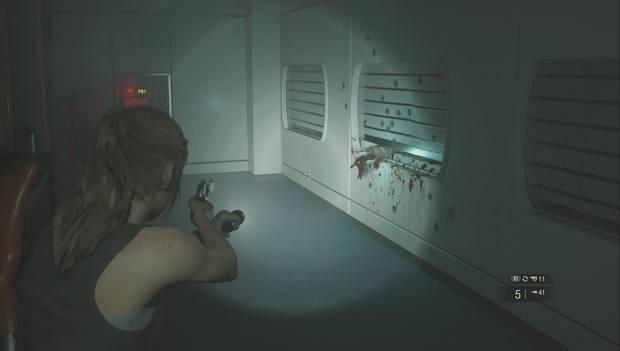 Resident Evil 2 Remake - Invesiga el laboratorio: Habitación de las camas