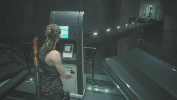 Resident Evil 2 Remake - Investiga el laboratorio: activa el puente al este