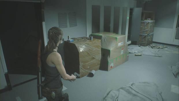 Resident Evil 2 Remake - Investiga el laboratorio: bote de pólvora