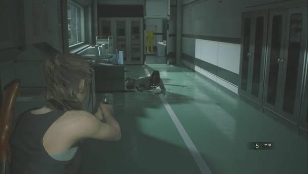Resident Evil 2 Remake - Investiga el laboratorio: elimina al zombi