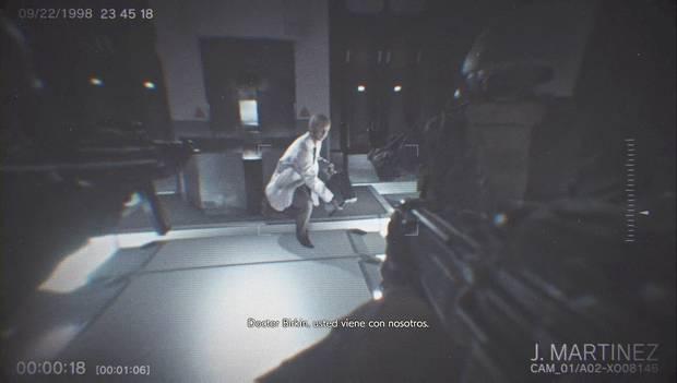 Resident Evil 2 Remake - Investiga el laboratorio: el USS mata a Birkin