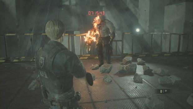 Resident Evil 2 Remake - Jefe Super Tyrant