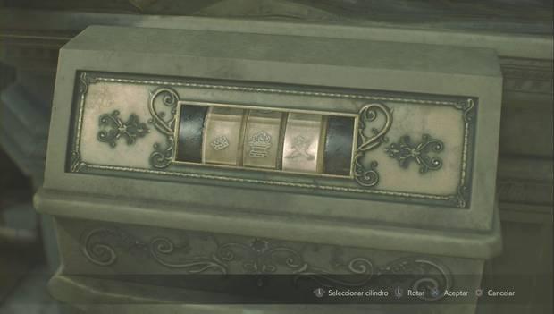 Resident Evil 2 Remake - Estatua del león: solución Nueva Partida 2