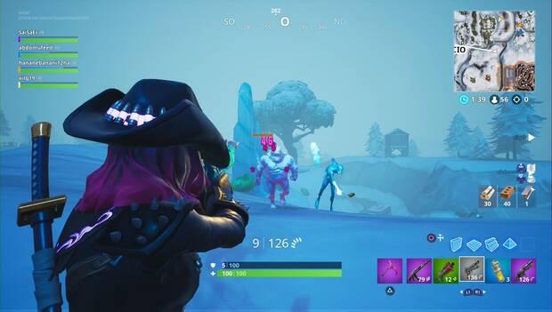 Fortnite - Desafíos de Tormenta de Hielo: destruye demonios de hielo