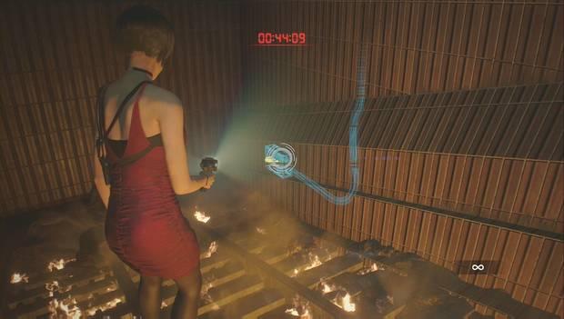 Resident Evil 2 Remake - Encuentra a Annette: primer panel de la incineradora