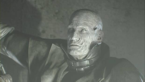 Resident Evil 2 Remake - El Tyrant atrapa a Leon