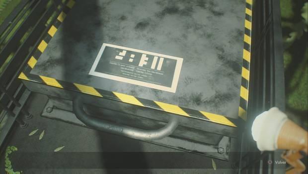 Resident Evil 2 Remake - Puzzle del invernadero: solución 1 en Nueva Partida 2